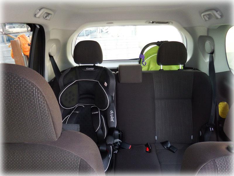 運転席からの後方視界